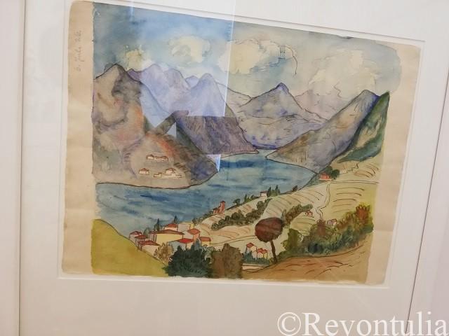 ヘッセの水彩画