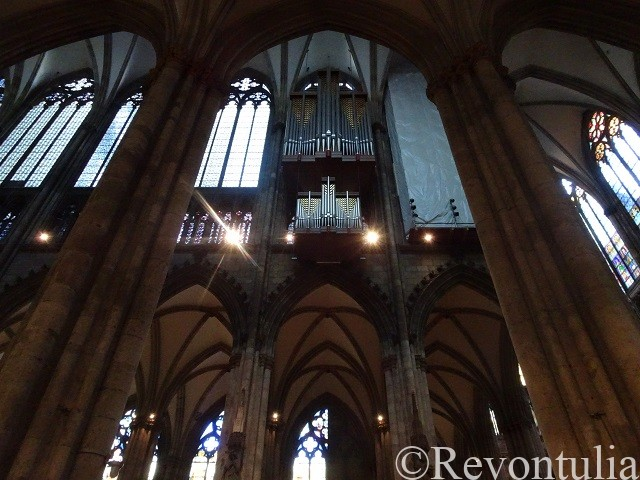 ケルン大聖堂のパイプオルガン