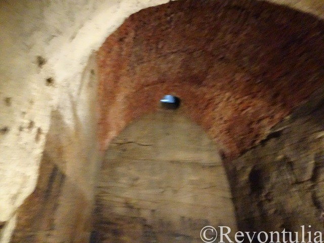 ピルスナーウルケル醸造所の地下の冷却室