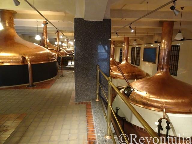 ピルスナーウルケル醸造所の仕込み窯