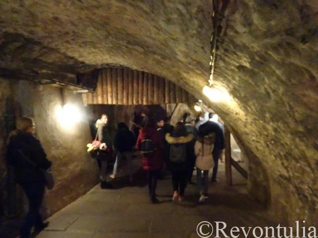 ピルスナーウルケル醸造所の地下