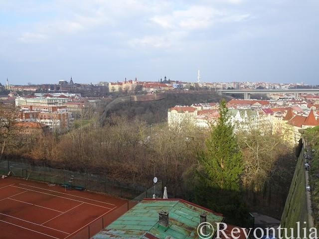 ヴィシェフラトからの街の眺め