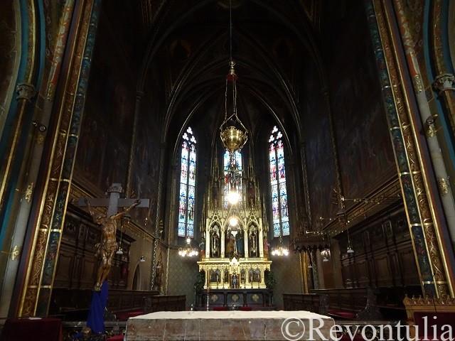 聖ペテロ聖パウロ教会の祭壇