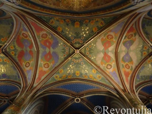 聖ペテロ聖パウロ教会の天井