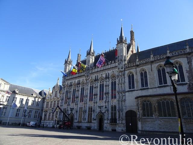 ブルッヘの旧市庁舎