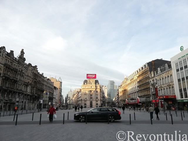 ブリュッセルのドゥ・ブルケール広場