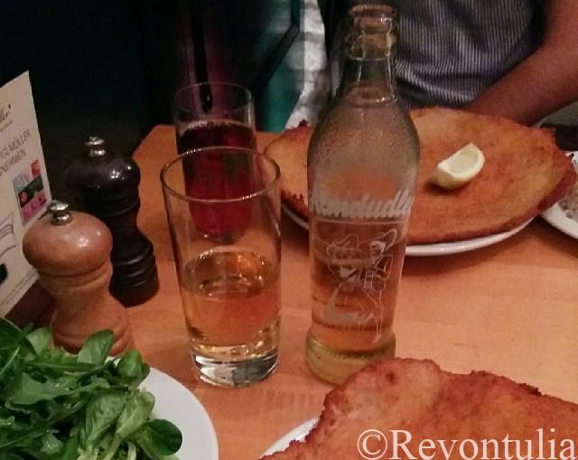 オーストリアの飲み物アルムドゥドラーの写真