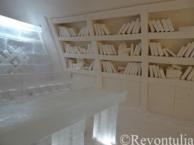 ルミリンナの本棚?