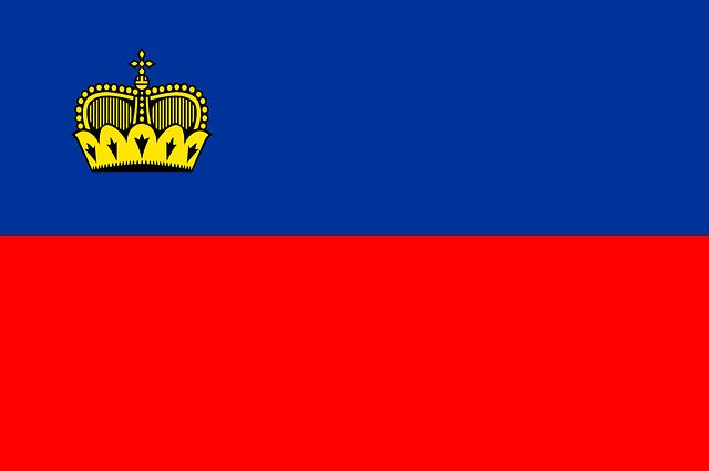 リヒテンシュタインの旗
