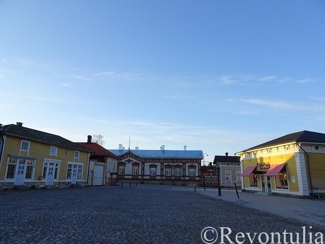 ラウマ旧市街の広場