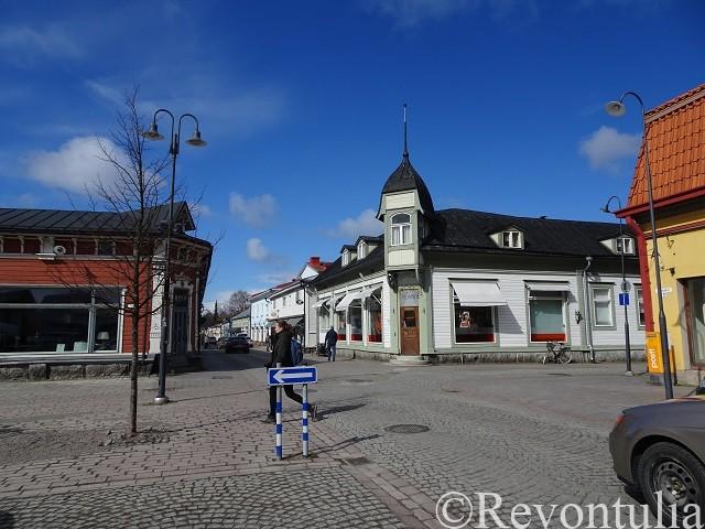 ラウマのマーケット広場