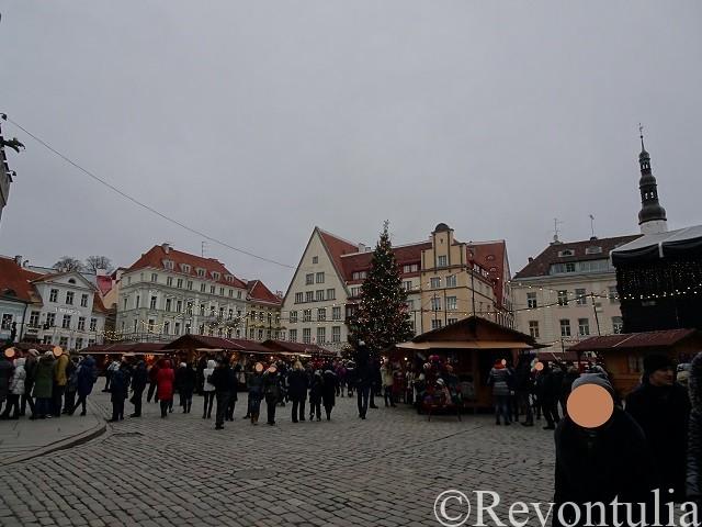 タリンのクリスマスマーケット