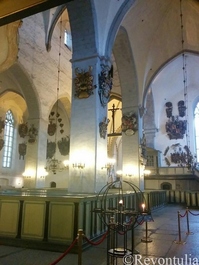 タリンのアレクサンドル・ネフスキー大聖堂の内部