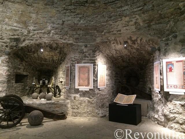 タリンのキーク・イン・デ・キョクの内部の博物館