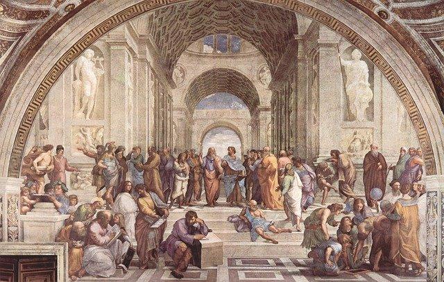 アテネの学堂の写真