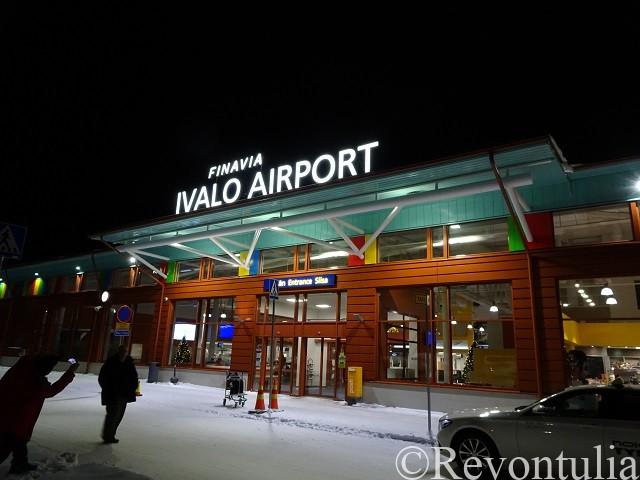 イヴァロ空港の写真