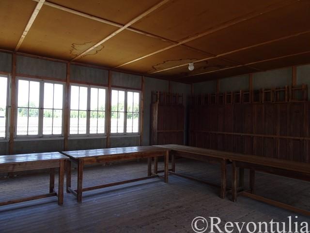 ダッハウ強制収容所の建物の部屋