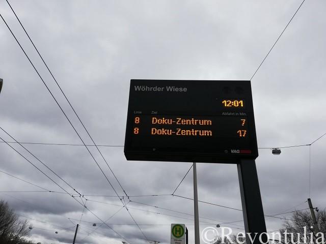 ニュルンベルクのトラム駅