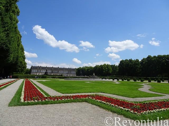 プリーン・アム・キームゼーのヘレンキームゼー城の庭
