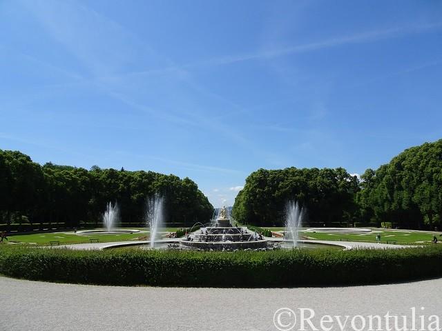 プリーン・アム・キームゼーのヘレンキームゼー城の噴水