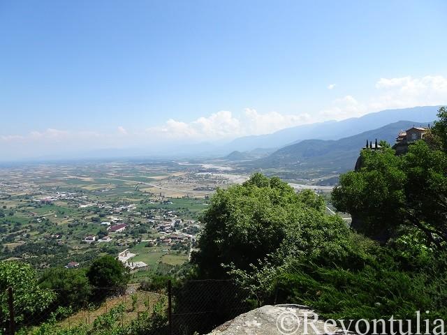 聖ステファノス修道院からの眺め
