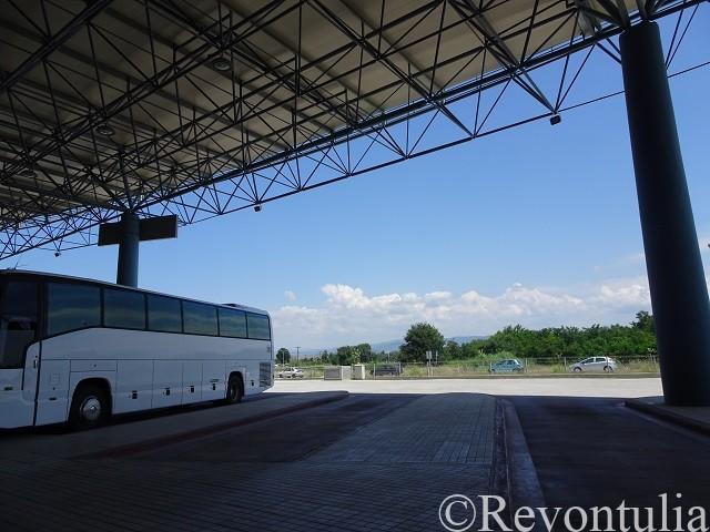 ギリシャ・トリカラのバスターミナル