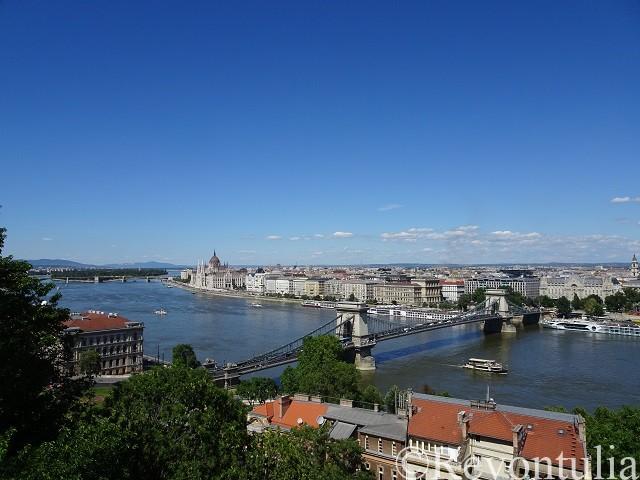 ブダペストの眺め