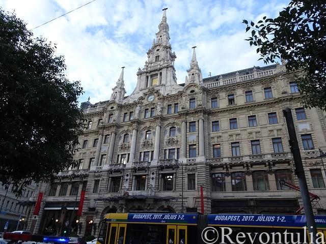 ブダペストのとある建物