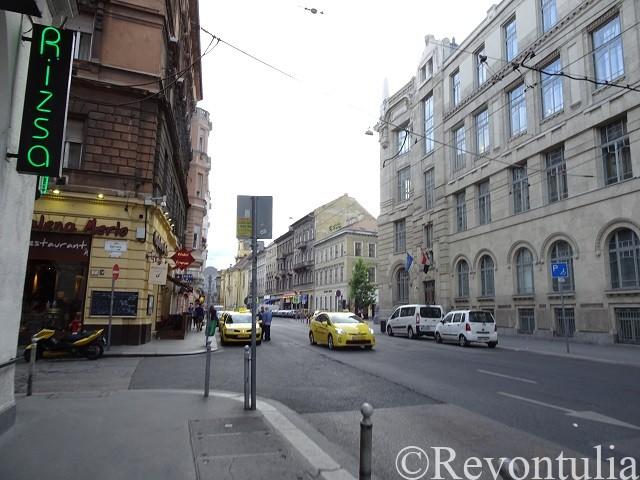 ブダペストのとある通り