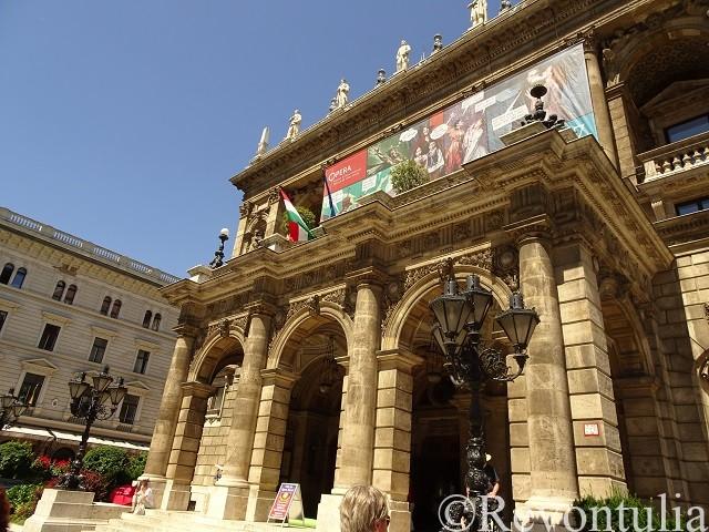 ブダペストのオペラ