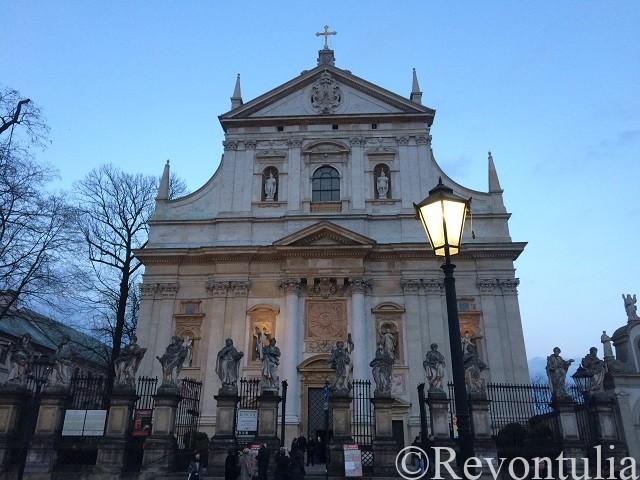 クラクフ旧市街の聖ペテロパウロ教会