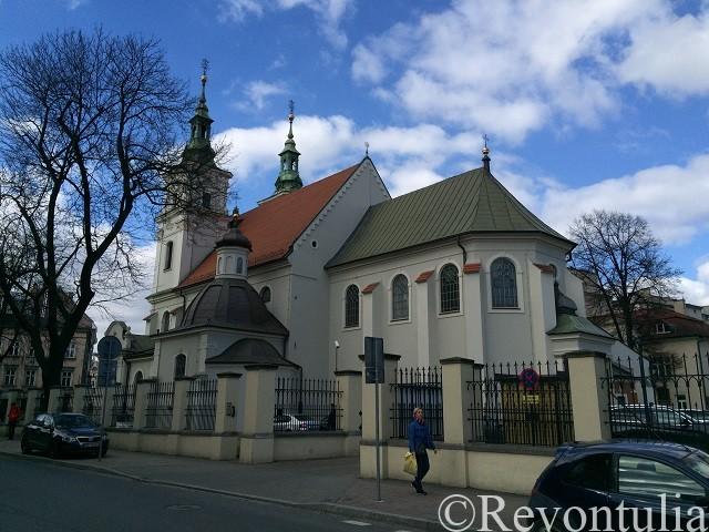 クラクフのとある教会