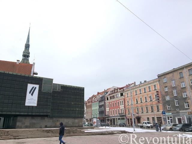 リガのとある広場