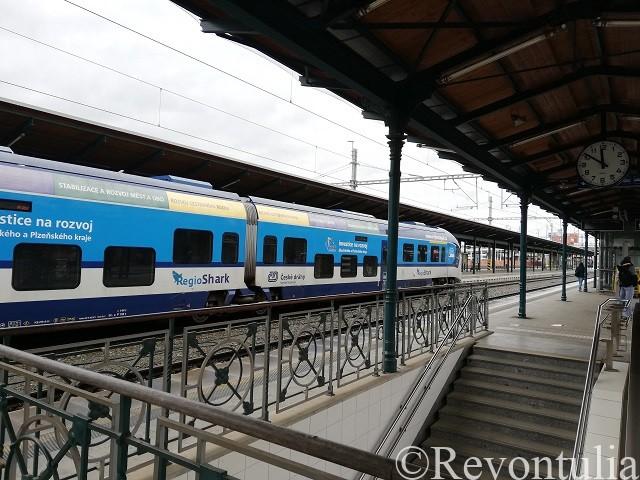 チェコのプルゼニ(ピルゼン)駅