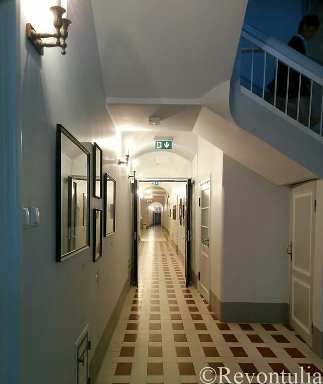 タルトゥ大学校舎の内部