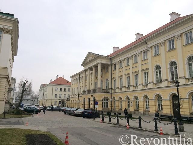 ワルシャワ大学の建物