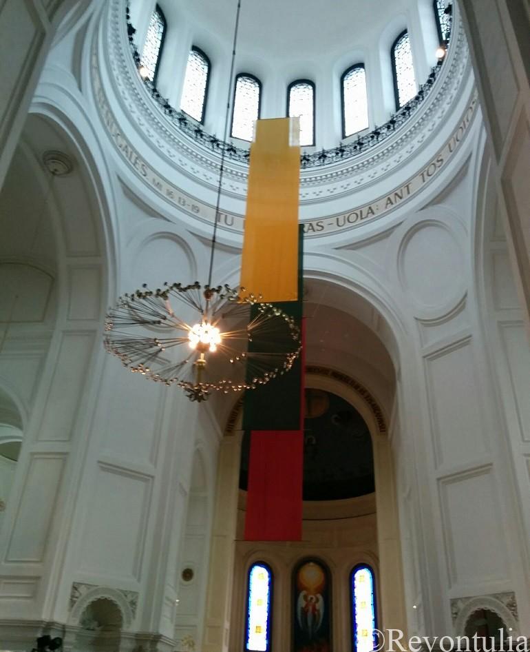 カウナスの聖ミカエル教会の中