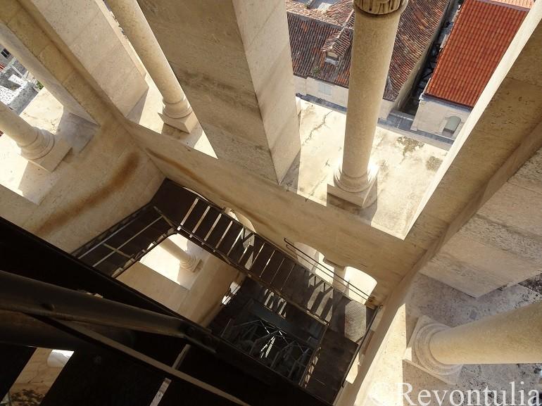 スプリットのディオクレティアヌス宮殿の鐘楼