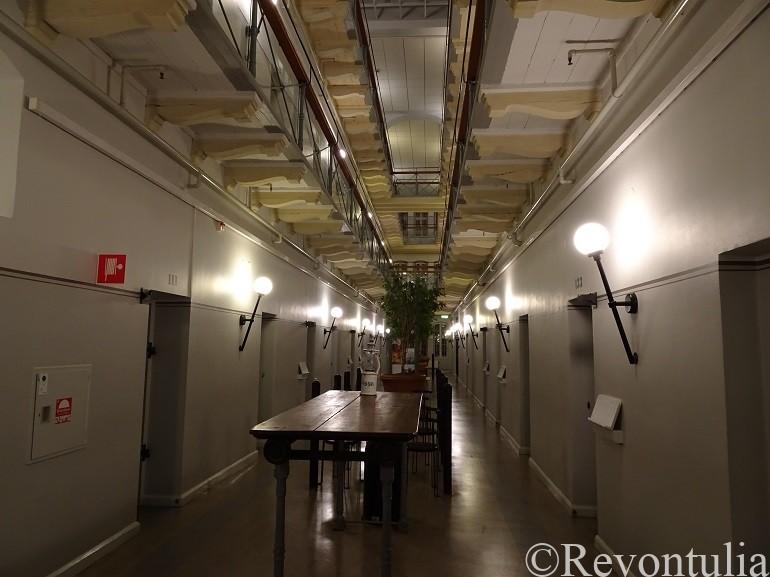 ストックホルムの監獄ホテル
