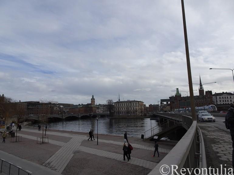 ストックホルム旧市街への橋