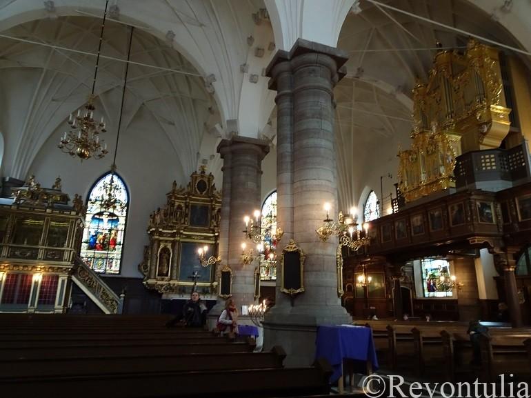 ストックホルムのドイツ人教会の中
