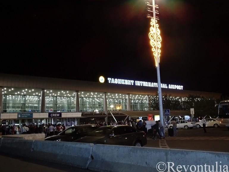 タシケント空港の写真