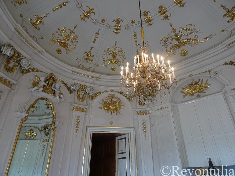 ウィーンのベルヴェデーレ宮殿の内部