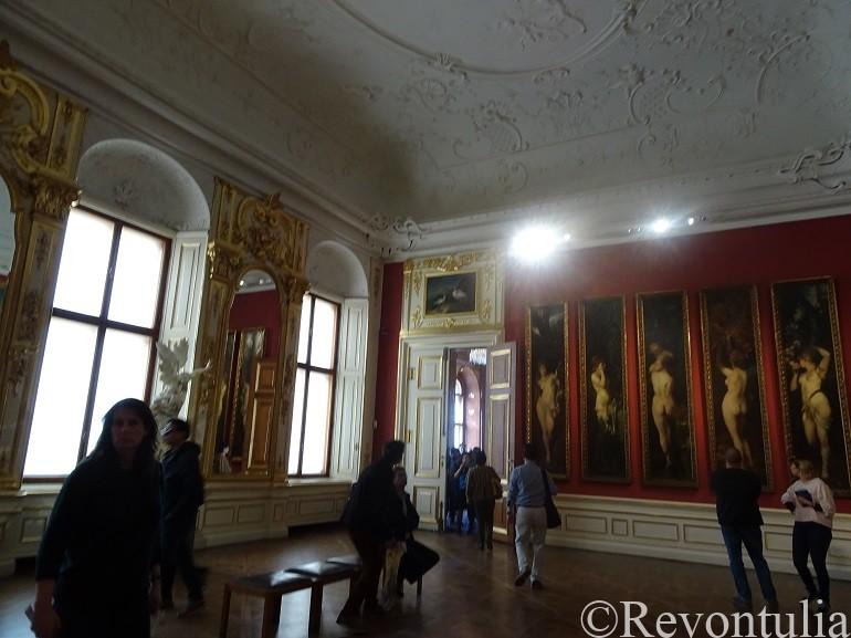 ウィーンのベルヴェデーレ宮殿の絵画