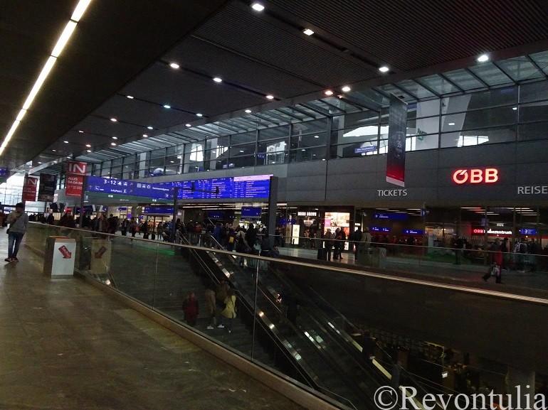 ウィーン中央駅