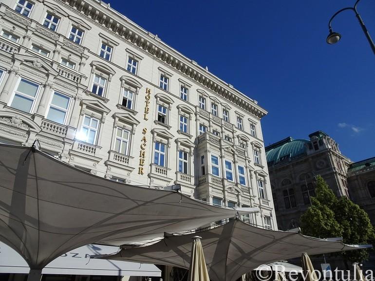ウィーンのホテル・ザッハー