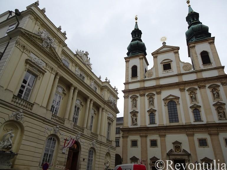 ウィーンのイエズス会教会