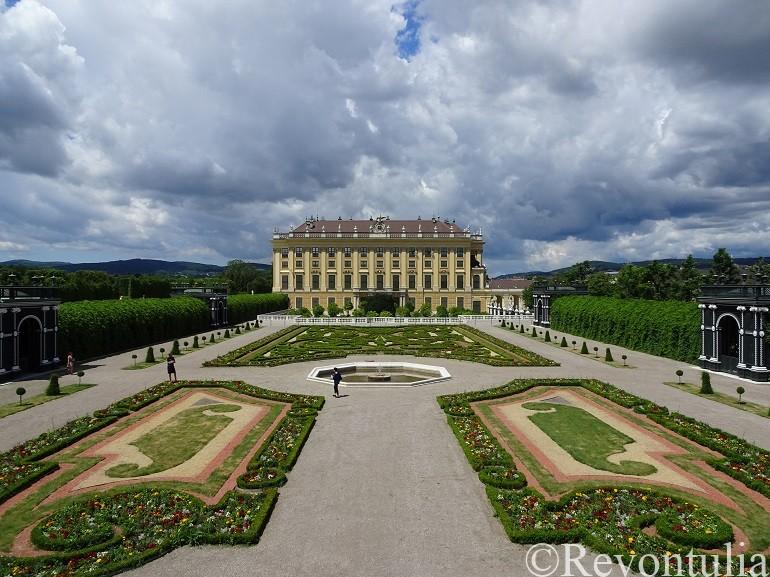 シェーンブルン宮殿のオランジェリー