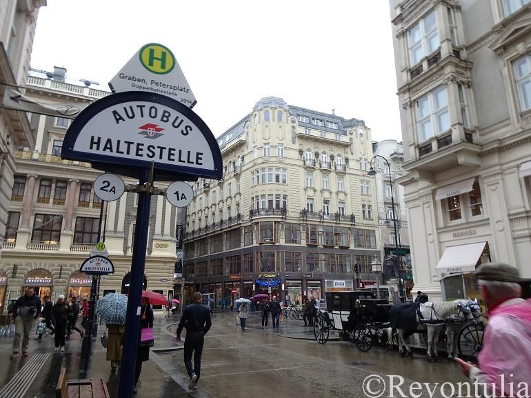 ウィーンのグラーベン通り