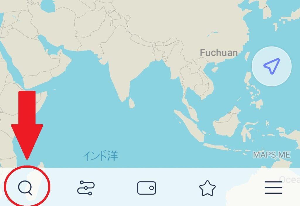MAPS.MEの世界地図